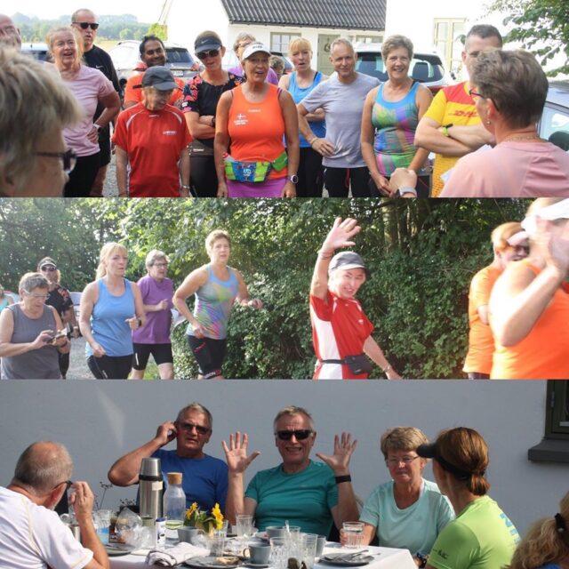 Morgenmadsløb i Spanager ved Køge 31. august 2019